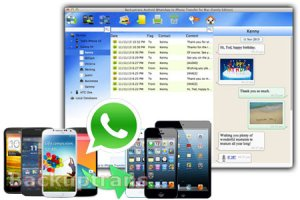 key backuptrans android whatsapp to iphone transfer