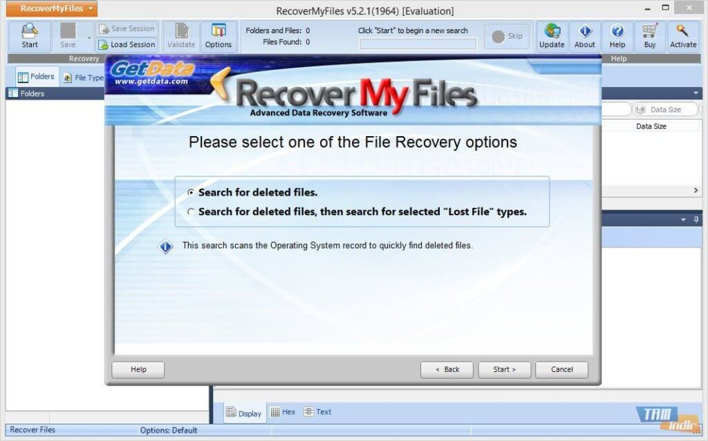 Recover My file activation code