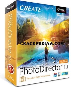 CyberLink PhotoDirector 10 Ultra Crack