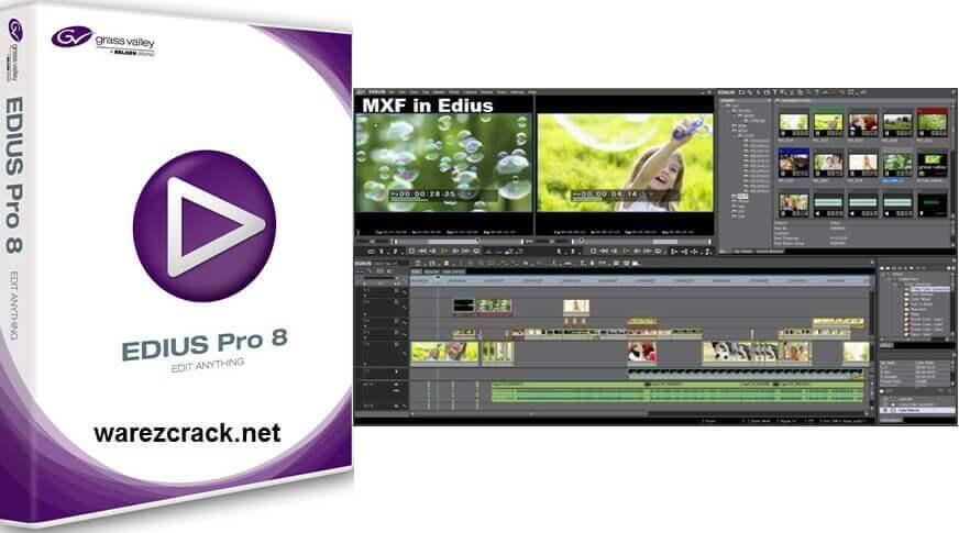 Edius Pro 8 Download free with Crack Key
