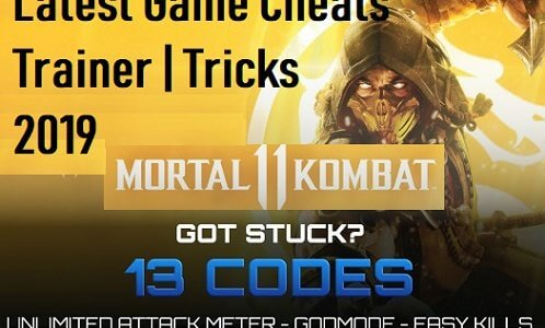 Mortal Kombat 11 Cheat Codes