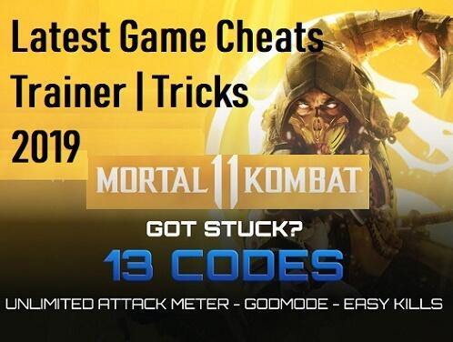 Mortal Kombat 11 Cheat Codes