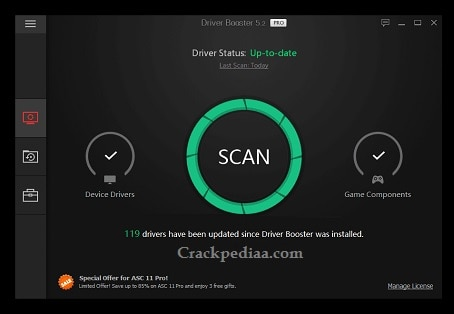 Driver Booster Pro Crack Free Download