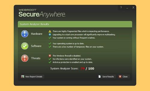 WebRoot SecureAnywhere AntiVirus 2021